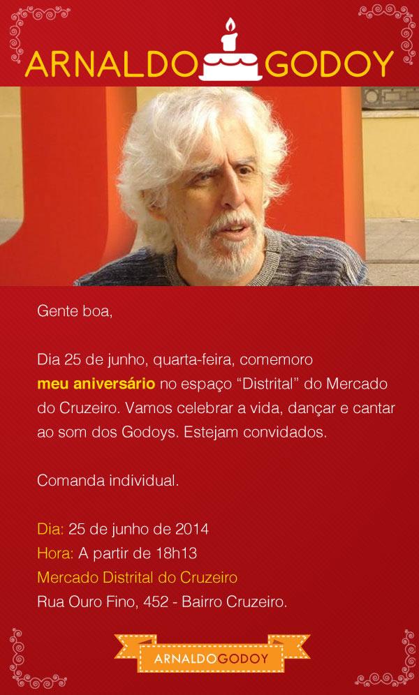 Aniversário Arnaldo Godoy - 2014