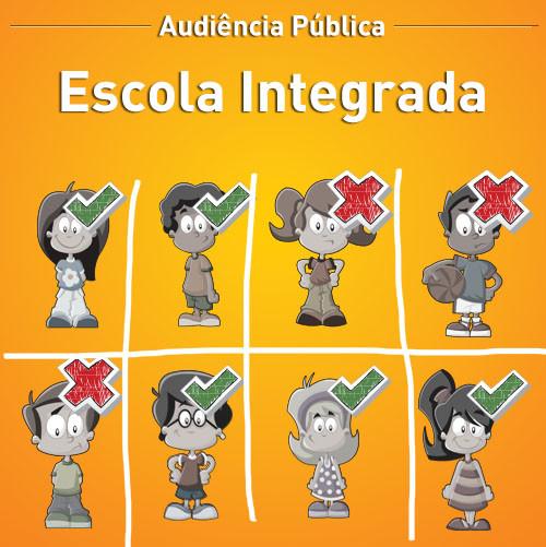 Audiência Pública Escola Integrada
