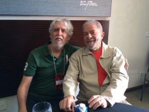 Arnaldo Godoy e Lula - 6º Congresso Nacional do PT